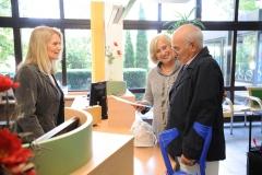 Begrüßung in der Klinik Eichholz