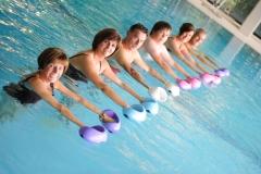 Wassergymnastik in der Rehaklinik Eichholz