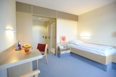 Zimmeransicht der Klinik Eichholz
