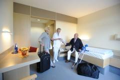 Zimmer in der Klinik Eichholz