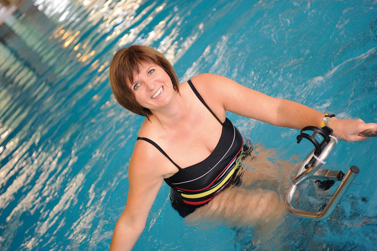 Aquajogging im Rahmen der Sporttherapie