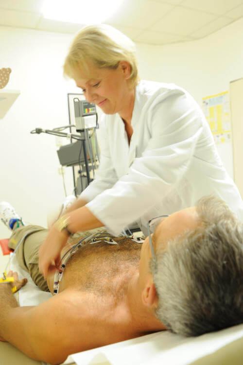 Schrittmacherkontrollen in der Klinik Eichholz