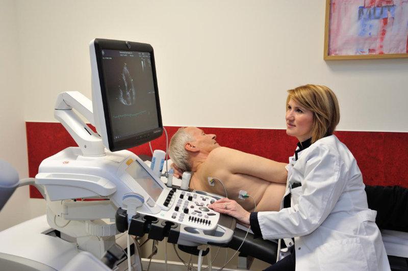 Untersuchung, Stabilisierung und Prävention nach Herzinfarkt