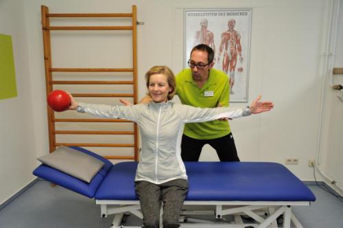 Physiotherapie & medizinische Trainingstherapie im Rahmen der Medizinische Rehabilitation